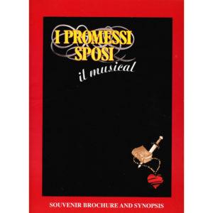 I promessi sposi il musical brochure