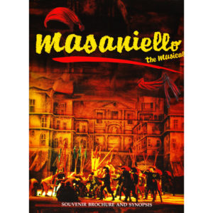Masaniello the Musical brochure and synopsis